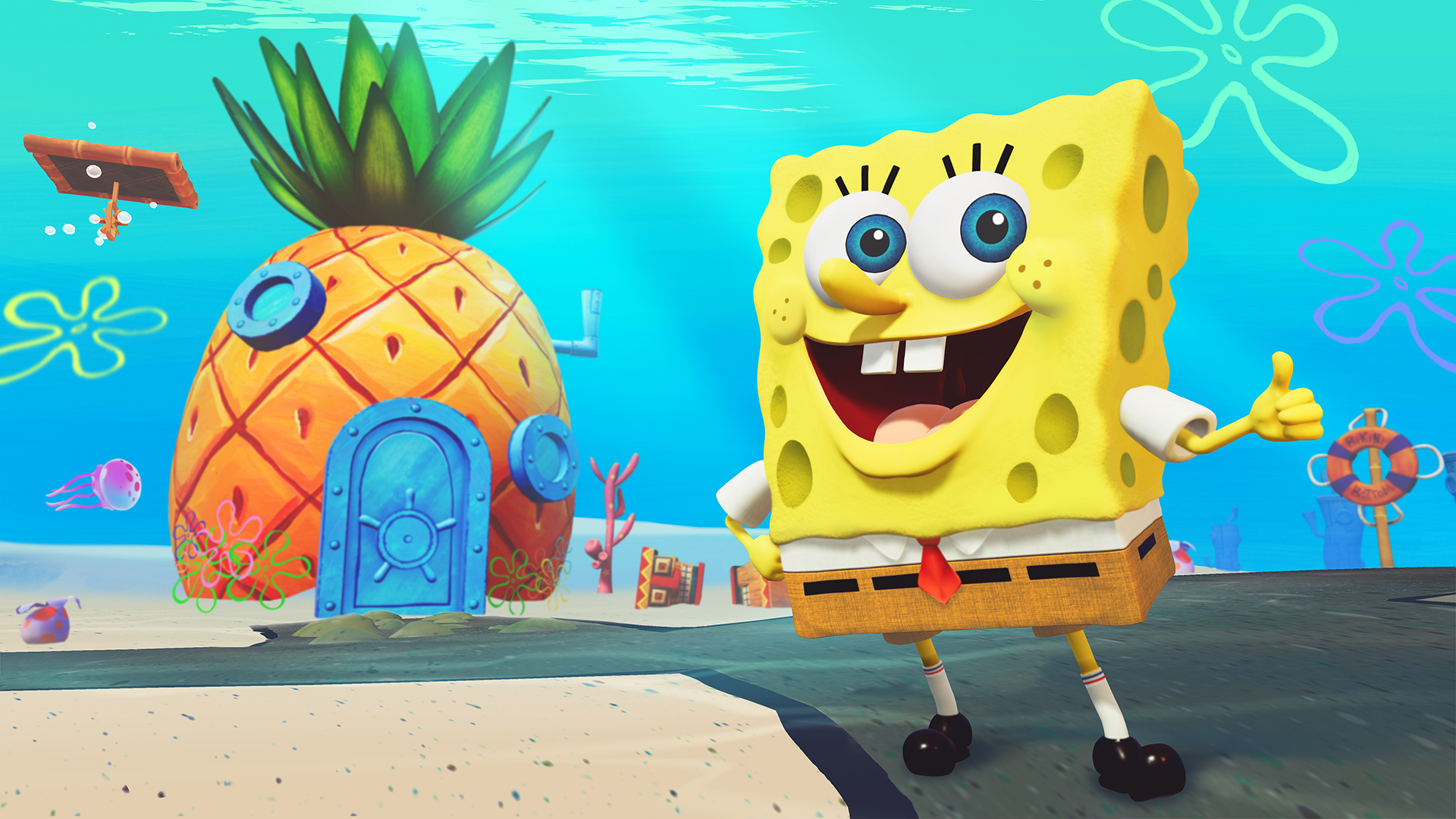 RehydratedThq Bikini Bottom SquarepantsBattle Spongebob For 0ONPnk8wX